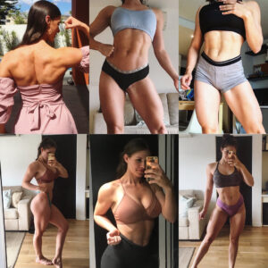 hot girl with muscle body and muscle arms image from facebook