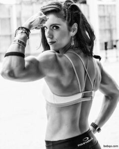 perfect female bodybuilder with muscular body and muscle biceps image from flickr