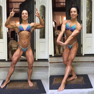 awesome chick with muscle body and muscle bottom pic from reddit