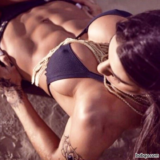 hot chick with muscular body and muscle ass image from flickr
