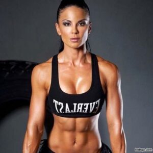 sexy female with muscle body and muscle arms post from flickr
