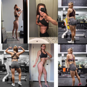 perfect girl with strong body and muscle bottom repost from tumblr