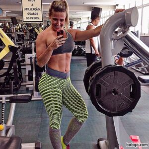 perfect girl with fitness body and toned booty photo from g+