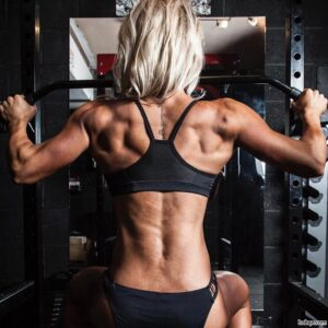 hot lady with muscular body and muscle bottom repost from flickr