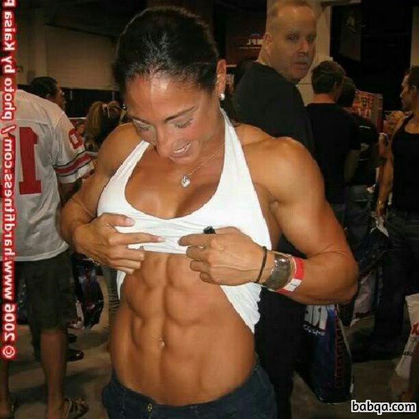 hot female with strong body and muscle bottom post from g+