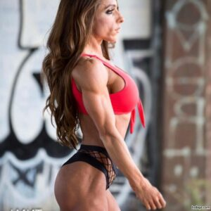cute babe with strong body and muscle biceps picture from reddit