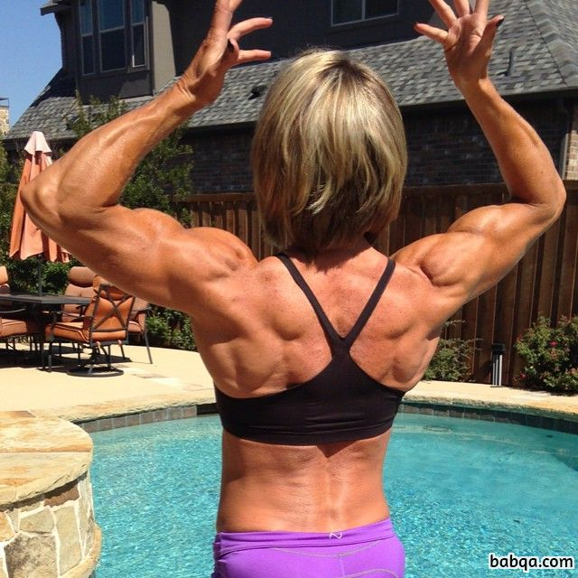 spicy lady with fitness body and muscle legs photo from reddit