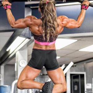 hot lady with muscle body and muscle booty photo from g+