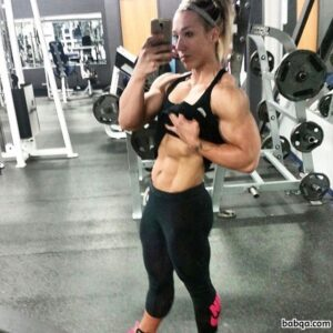 spicy girl with muscular body and muscle arms picture from tumblr
