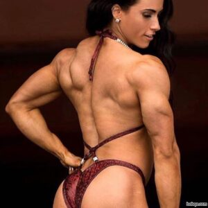 hottest female bodybuilder with muscle body and muscle biceps repost from insta