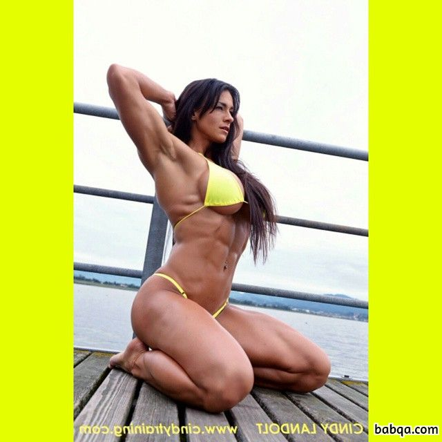hottest woman with fitness body and toned arms post from reddit