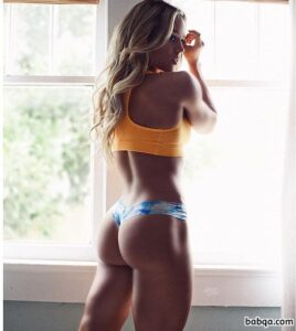 spicy female bodybuilder with muscular body and muscle ass post from linkedin