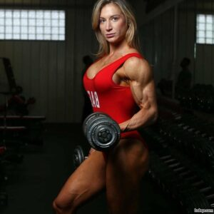 sexy lady with strong body and toned legs image from facebook