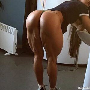 hot female bodybuilder with muscular body and muscle biceps repost from flickr