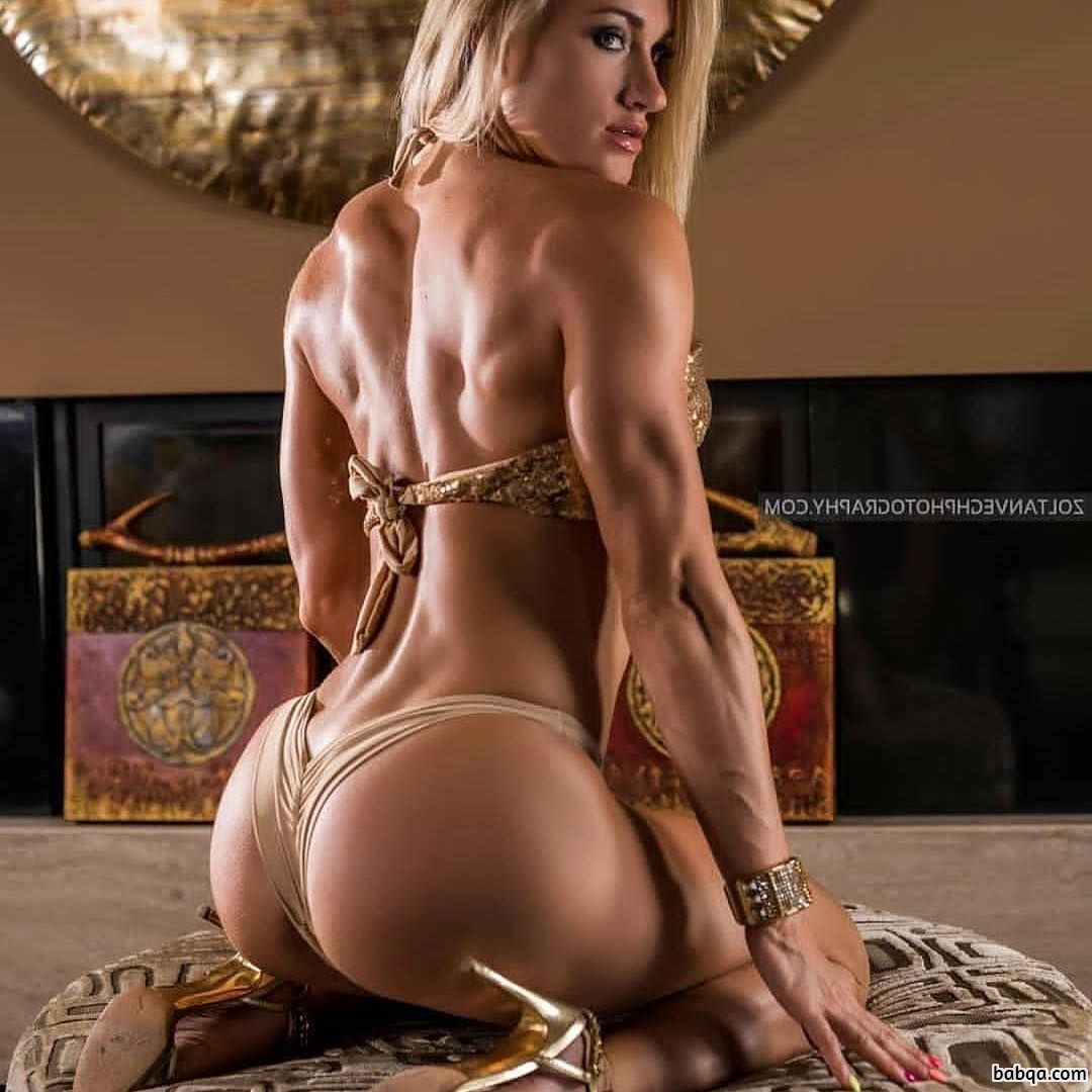 hottest babe with fitness body and toned booty repost from tumblr