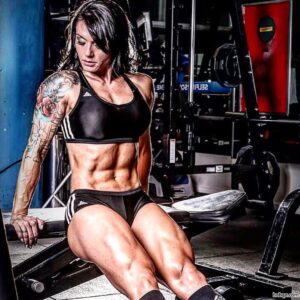 perfect female bodybuilder with strong body and toned ass image from reddit