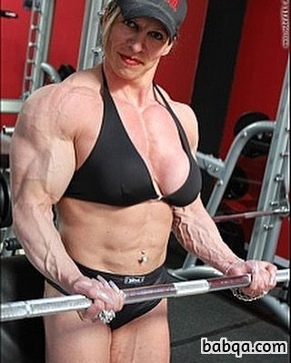 hot female with strong body and toned legs photo from flickr