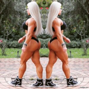 spicy girl with muscle body and muscle legs post from flickr