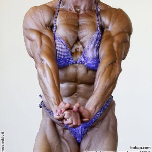 awesome female with muscle body and muscle ass photo from flickr