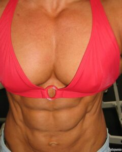hot chick with muscle body and muscle arms image from tumblr