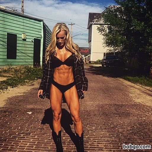 beautiful girl with muscle body and toned legs picture from tumblr