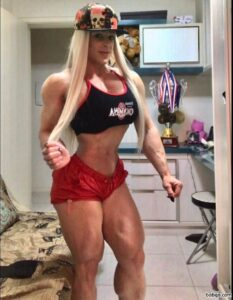 hottest chick with fitness body and toned arms photo from linkedin