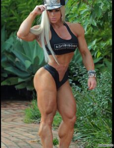 sexy female bodybuilder with strong body and toned ass photo from flickr