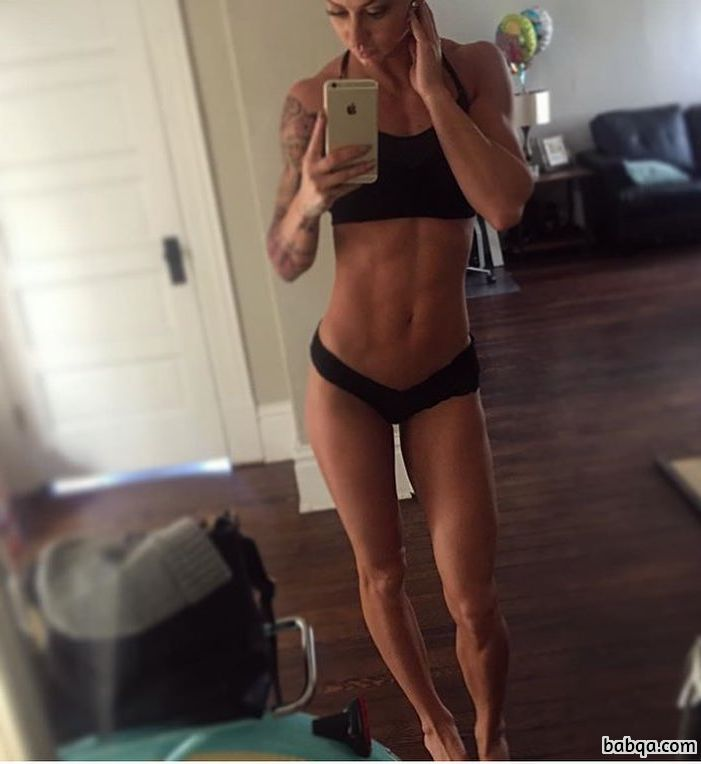 beautiful babe with strong body and muscle bottom post from tumblr