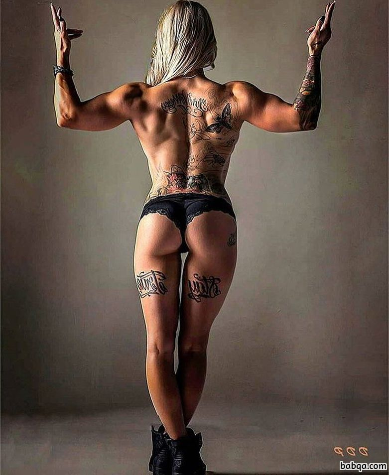 awesome female with muscle body and toned legs photo from linkedin