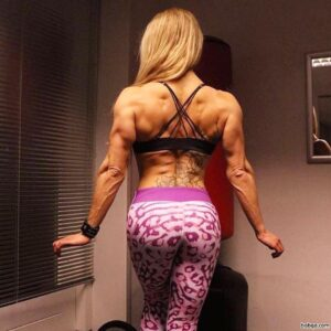 hot chick with strong body and muscle ass photo from flickr