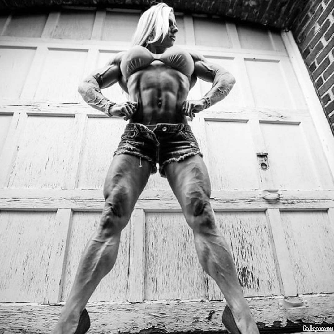 perfect lady with muscle body and muscle ass post from flickr