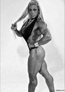 sexy woman with fitness body and muscle bottom picture from tumblr