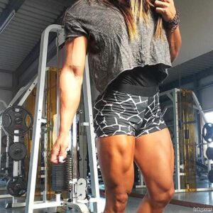 awesome babe with strong body and muscle ass image from reddit