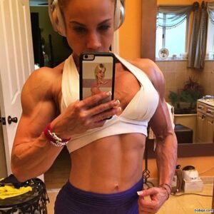 beautiful babe with muscle body and toned booty post from reddit