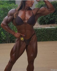 sexy female bodybuilder with strong body and muscle ass picture from flickr