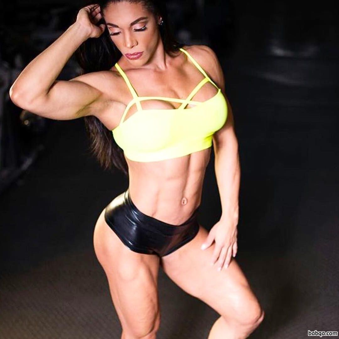 hottest woman with muscle body and muscle booty picture from tumblr