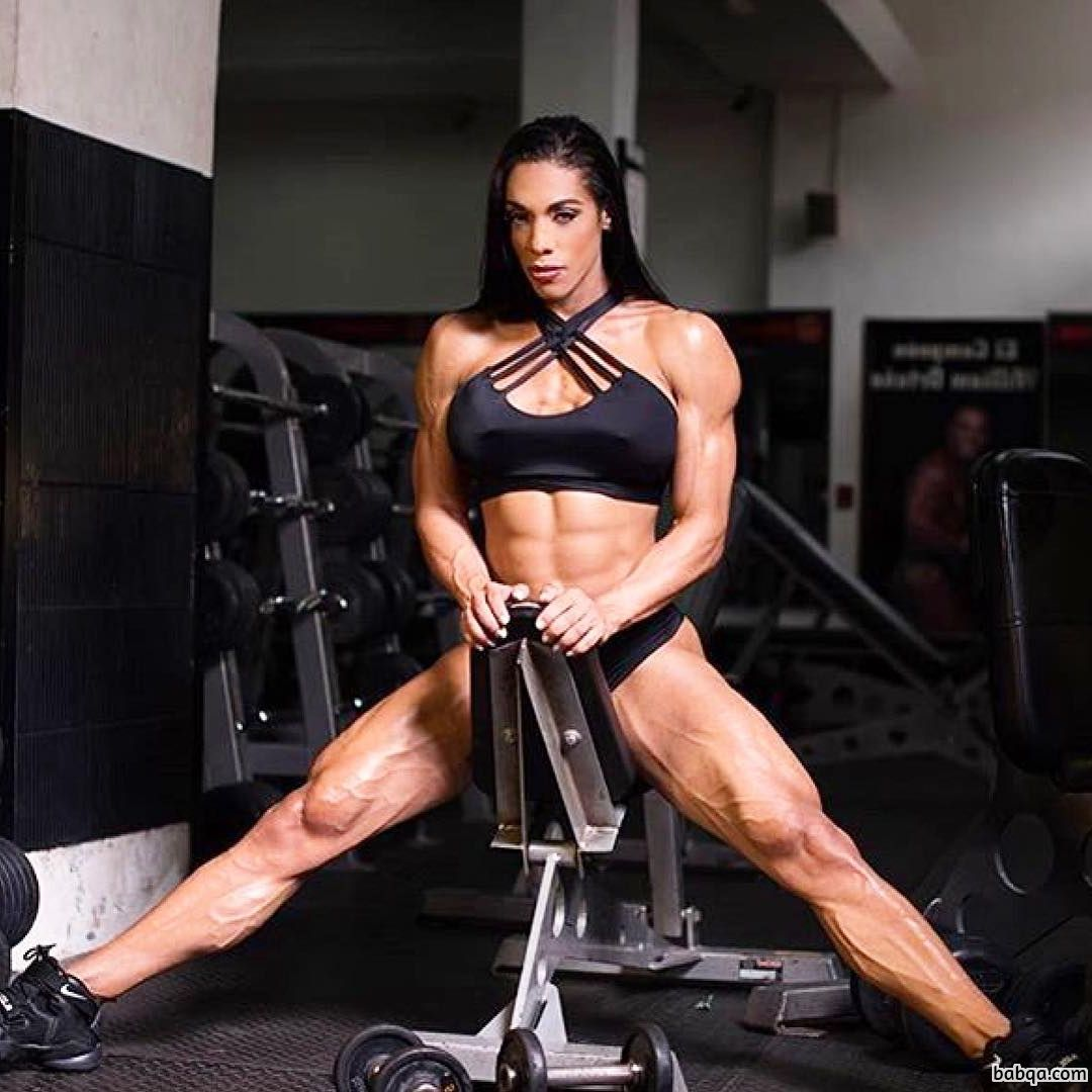 sexy female with strong body and muscle bottom image from flickr