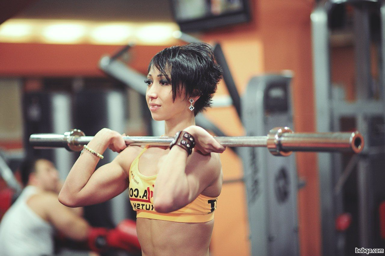hottest lady with muscle body and muscle booty post from flickr