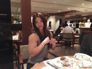 hot babe with muscular body and muscle legs photo from linkedin