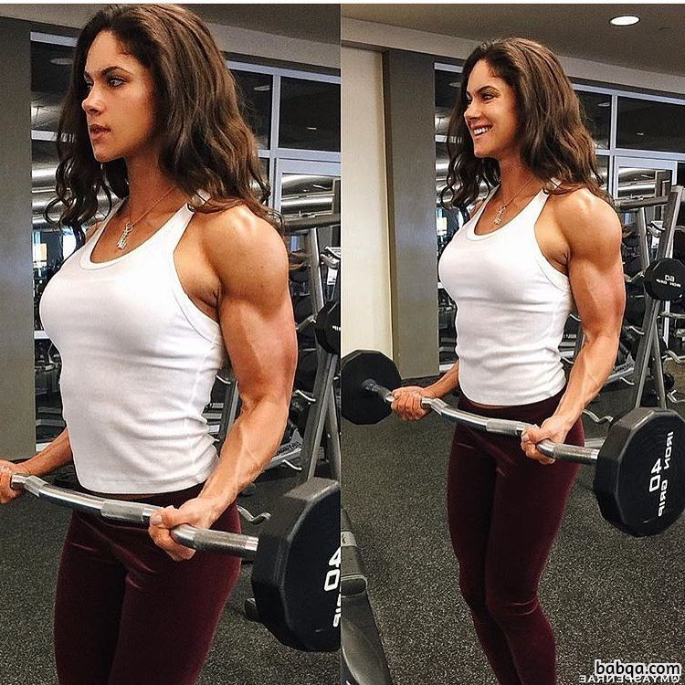 cute female bodybuilder with muscular body and toned bottom picture from tumblr