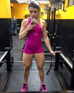 perfect woman with muscle body and toned ass picture from facebook