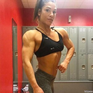 spicy babe with strong body and muscle bottom repost from instagram