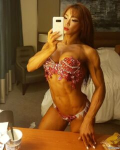 beautiful female bodybuilder with strong body and muscle ass pic from linkedin