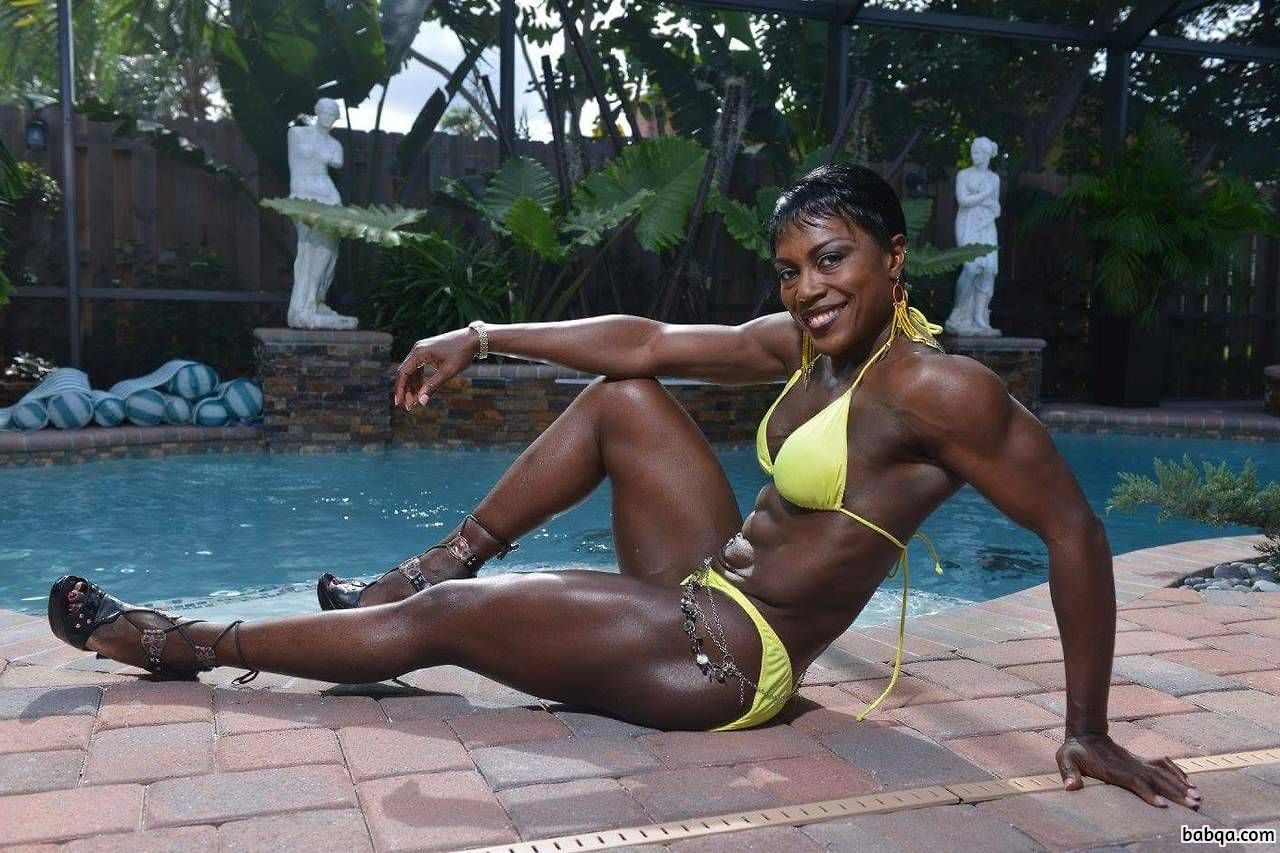 spicy girl with muscle body and toned legs picture from facebook