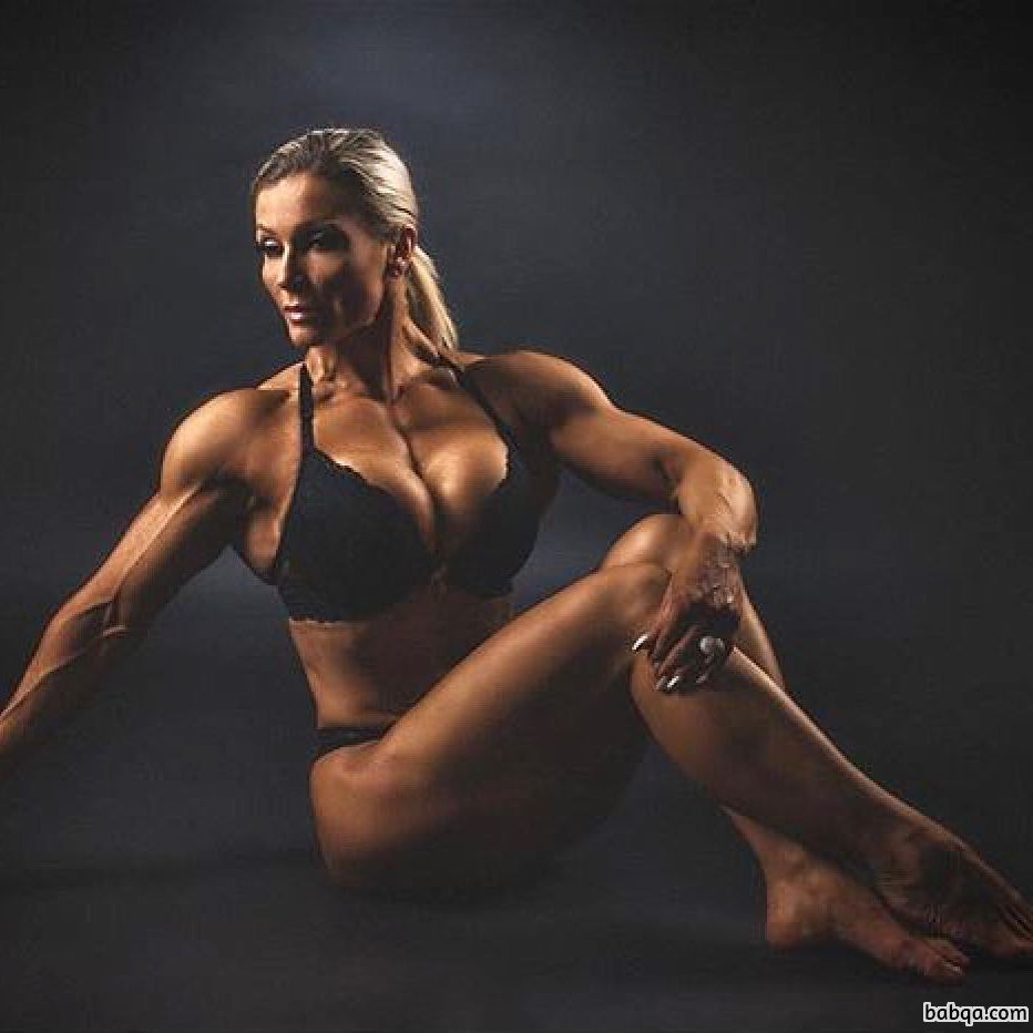 cute lady with fitness body and toned legs picture from facebook