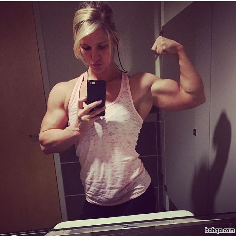 awesome lady with strong body and muscle ass photo from reddit