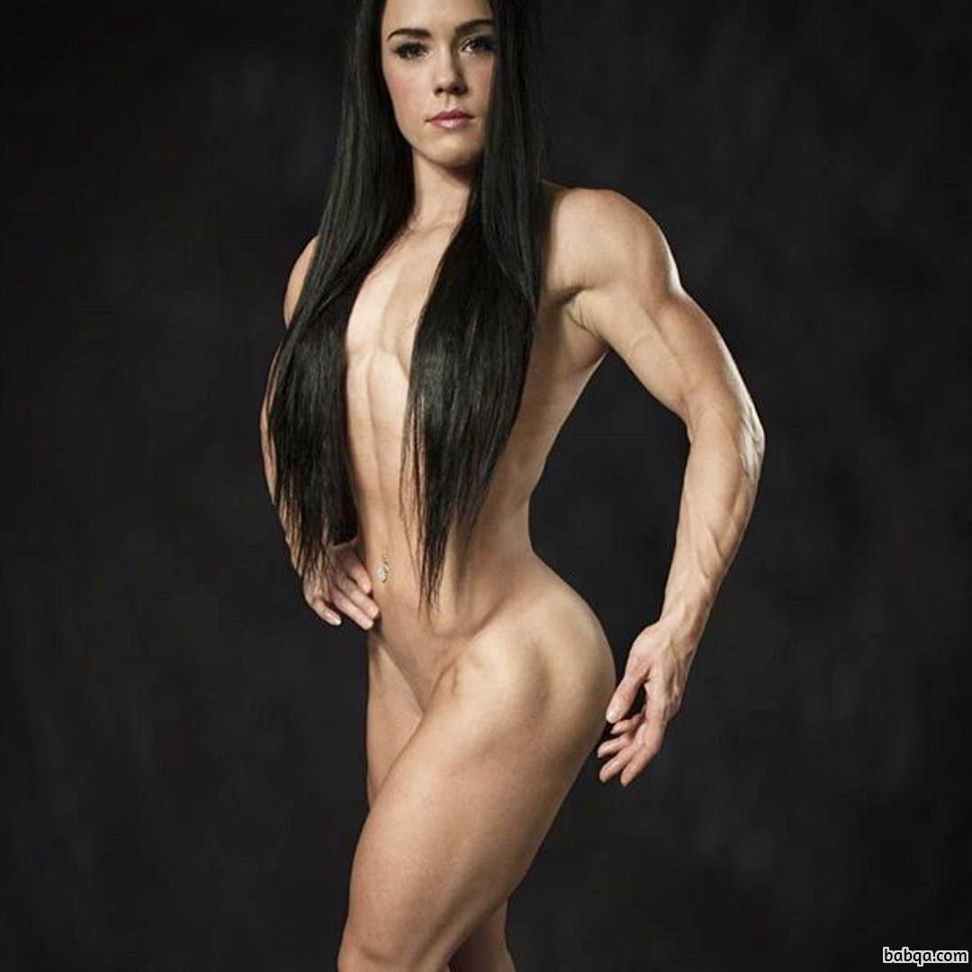 hottest lady with muscular body and toned booty pic from linkedin