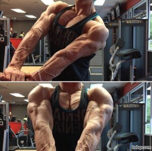hot female bodybuilder with fitness body and muscle ass repost from linkedin