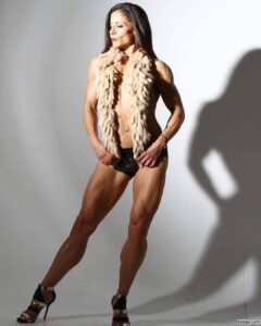 awesome female with muscular body and muscle bottom image from reddit