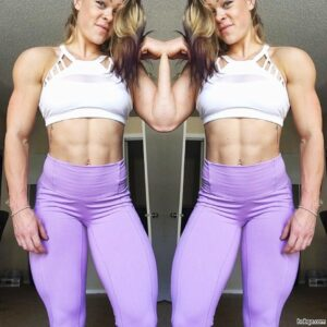 awesome girl with strong body and toned arms photo from g+